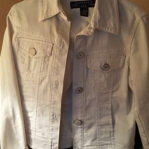 White Denim Jacket NWOT